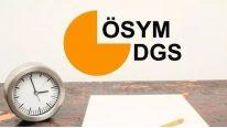 DGS İle Yerleşen Öğrencilerin Kesin Kayıt İşlemleri